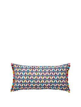 monsoon-hand-tufted-geo-cushion