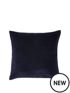monsoon-velvet-square-cushion-blue
