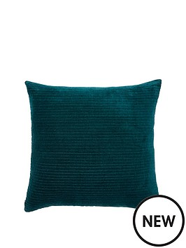 monsoon-velvet-square-cushion-in-teal