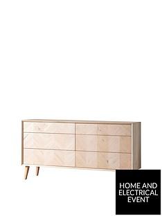 hudson-living-milano-6-drawer-sideboard