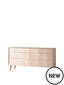 hudson-living-milano-6-drawer-sideboard