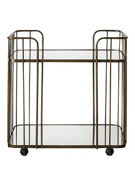 Hudson Living Hudson Living Verna Drinks Trolley - Bronze Picture