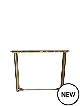 hudson-living-emperor-marble-console-table-brown