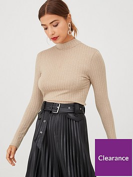 v-by-very-ribbed-high-neck-top-camel