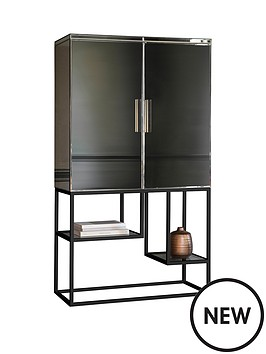 hudson-living-pippard-open-display-unit-ndash-champagne