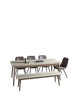 Hudson Living Hudson Living Milano 200 - 252 Cm Extending Dining Table + 1  ... Picture