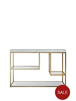 hudson-living-pippard-console-table-champagne