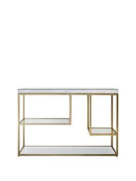 Hudson Living Hudson Living Pippard Console Table - Champagne Picture