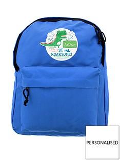 personalised-dinosaur-backpack