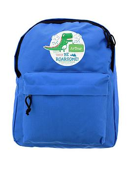 Very Personalised Dinosaur Backpack Picture