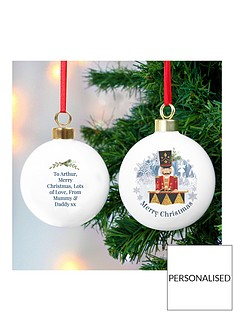 personalised-the-nutcracker-ceramic-bauble