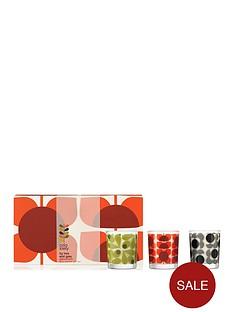 orla-kiely-house-square-flower-mini-candle-set