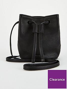 whistles-ammie-leather-mini-drawstring-bag-black