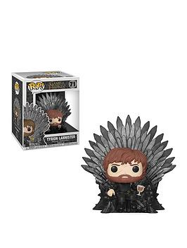 Pop! Pop! Got S10 Tyrion Sitting On Iron Throne Picture