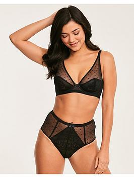 Figleaves Figleaves Isobella Full Cup Underwired Bra - Black Picture