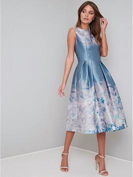 chi chi london Chi Chi London Karlene Dress - Blue Picture