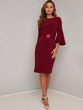 chi chi london Chi Chi London Louanna Dress - Berry Picture