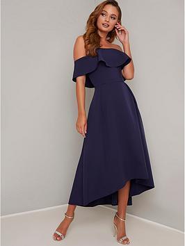 chi chi london Chi Chi London Yazmina Dress - Navy Picture