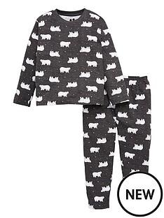 v-by-very-kids-unisex-polar-bearnbsp-print-jersey-family-pyjamas-grey