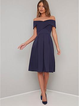 chi chi london Chi Chi London Bay Dress - Navy Picture