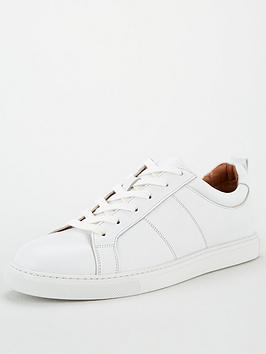 WHISTLES Whistles Koki Lace Up Trainers - White Picture