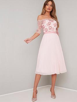 chi-chi-london-chi-chi-london-selda-lace-bardot-midi-dress