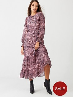 whistles-wild-cat-tiered-midi-dress-multi
