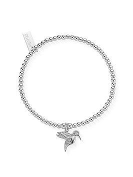 chlobo-sterling-silver-cute-charm-hummingbird-bracelet