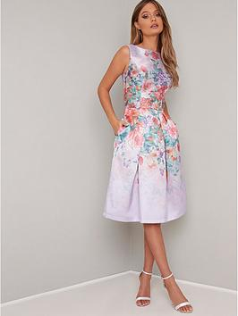 chi chi london Chi Chi London Alodie Dress - Lilac Picture