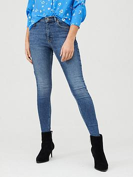 WHISTLES Whistles Sculpted Skinny Jean - Denim Picture