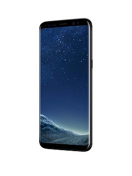 Premium Pre-Loved Premium Pre-Loved Refurbished Samsung Galaxy S8 - Black Picture