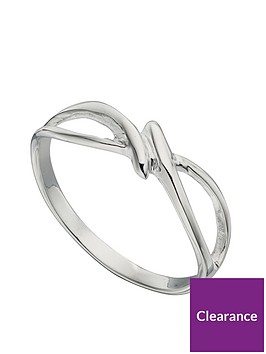 the-love-silver-collection-sterling-silver-cut-out-twist-ring
