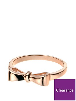 the-love-silver-collection-rose-gold-plated-sterling-silver-bow-ring