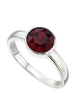 the-love-silver-collection-swarovski-birthstone-silver-ring
