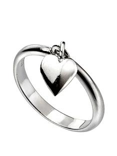 the-love-silver-collection-sterling-silver-heart-drop-charm-ring