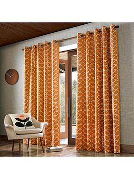 Orla Kiely House Orla Kiely House Linear Stem 90X72 Eyelet (229X183Cm) Picture