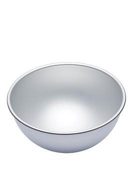 Masterclass Masterclass Silver Anodised Hemisphere Cake Tin Picture