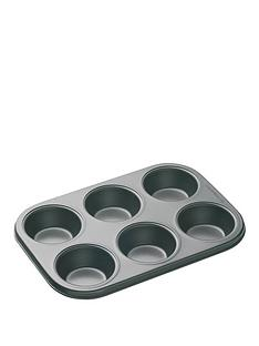 masterclass-6-hole-non-stick-muffin-and-cupcake-tray