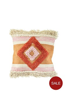 sass-belle-nevada-pink-tufted-cushion