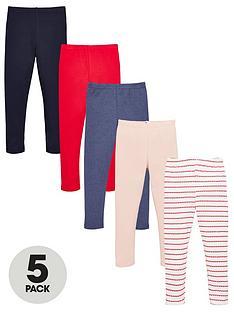 v-by-very-girls-5-pack-leggings-multi
