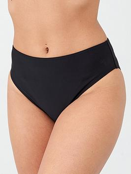V by Very V By Very Shapewear Mid Rise Brief - Black Picture