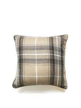 Catherine Lansfield Catherine Lansfield Brushed Heritage Check Cushion Picture