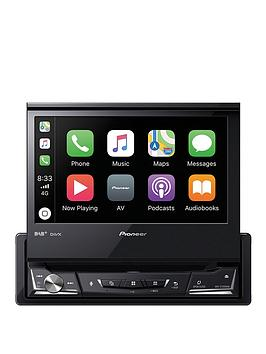 Pioneer   Avh-Z7200Dab 7 24-Bit Resistive Touchscreen Multimedia Player With Usb, Apple Carplay, Android Auto, Dab/Dab+ Digital Radio, Waze, Bluetooth And 13-Band Geq