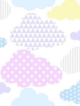 Superfresco Easy Superfresco Easy Marshmallow Clouds Wallpaper Picture