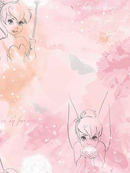 Disney   Tinkerbell Watercolour Wallpaper