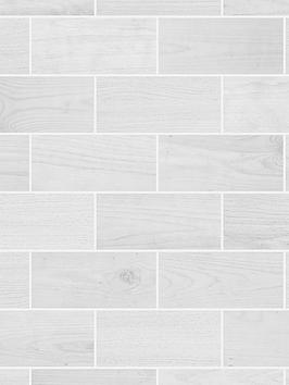 Contour Contour Wooden Grey Tile Wallpaper Picture