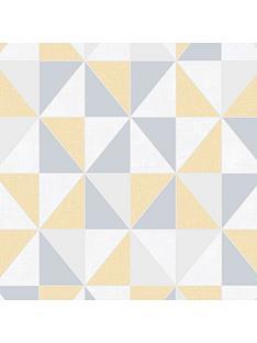 superfresco-erika-geo-ochre-wallpaper