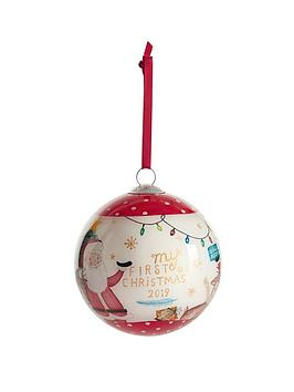 mamas-papas-my-first-christmas-bauble-red