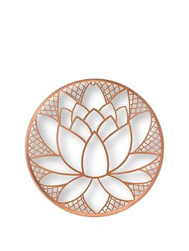 Graham & Brown Graham & Brown Lotus Blossom Metal Wall Art Picture