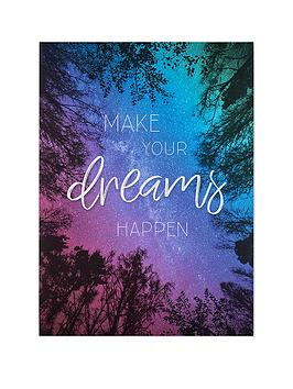 Graham & Brown Graham & Brown Midnight Dreams Canvas Picture